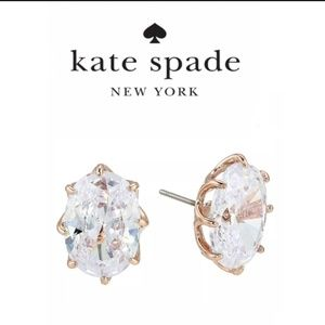 ♠️ Kate Spade ♠️ Shine On Crystal Oval Studs